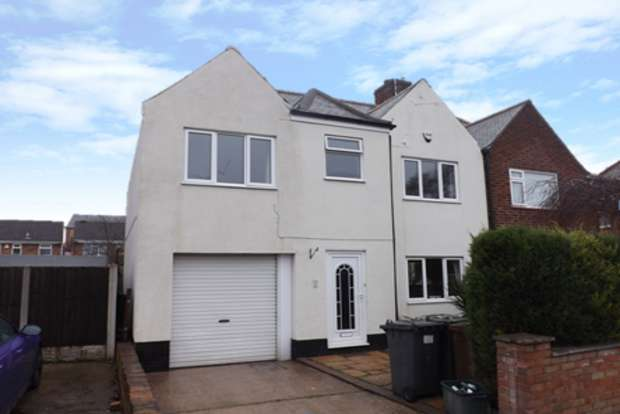 5 Bedrooms Semi Detached House for sale in Church Crescent, Daybrook, Nottingham, NG5
