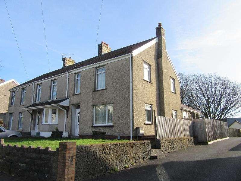 3 Bedrooms End Of Terrace House for sale in Llangyfelach Road, Llangyfelach, Swansea.