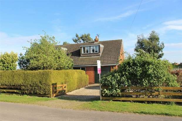 3 Bedrooms Detached Bungalow for sale in Low Road, Wainfleet St Mary, Skegness, Lincolnshire