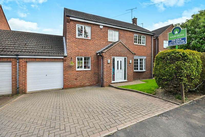 4 Bedrooms Detached House for sale in Gordon Crescent, Broadmeadows,South Normanton, Alfreton, DE55