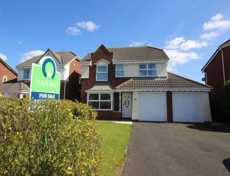 4 Bedrooms Detached House for sale in Walkmill Crescent, Carlisle, CA1