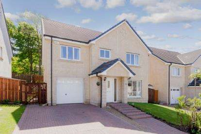 5 Bedrooms Detached House for sale in Cortmalaw Crescent, Robroyston