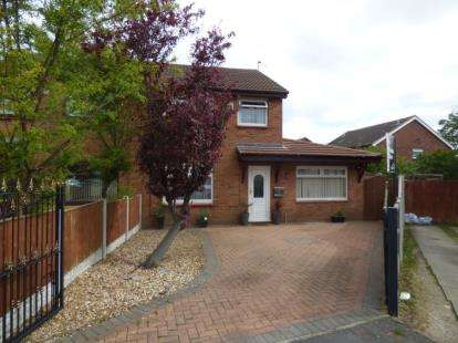 4 Bedrooms Semi Detached House for sale in Dumfries Way, Melling, Liverpool, Merseyside, L33