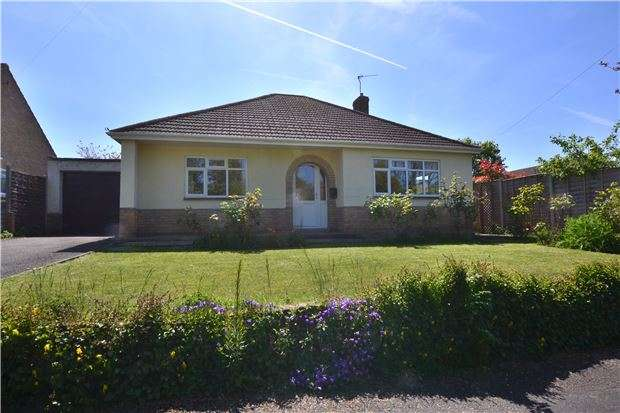 2 Bedrooms Detached Bungalow for sale in 2 Croft Close, Churchdown, Gloucester, GL3 2NU
