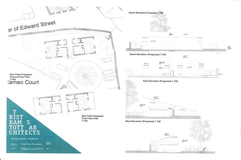 Land Commercial for sale in Land At Wagna House Pendarves Street, Tuckingmill, Camborne, TR14