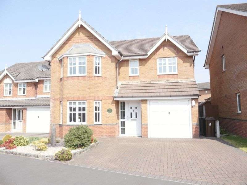 4 Bedrooms Detached House for sale in Perceval Way, Hindley