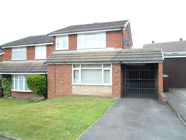 3 Bedrooms Semi Detached House for sale in LINLEY DRIVE, Bushbury, Wolverhampton