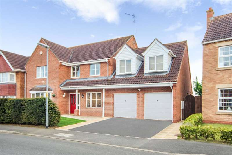 5 Bedrooms Detached House for sale in Winchelsea Road, Ruskington, Sleaford