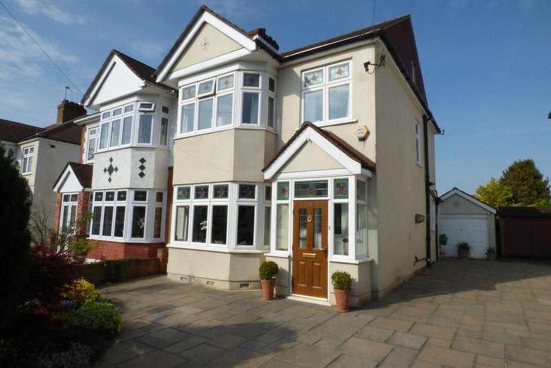 4 Bedrooms Semi Detached House for sale in Melstock Avenue, Upminster RM14