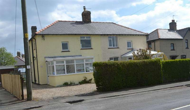3 Bedrooms Semi Detached House for sale in 16 Grange Road, Shilbottle, Alnwick, Northumberland