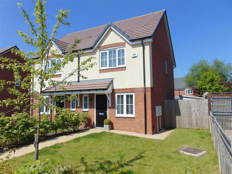 3 Bedrooms Semi Detached House for sale in Lichfield Road, Walsall Wood