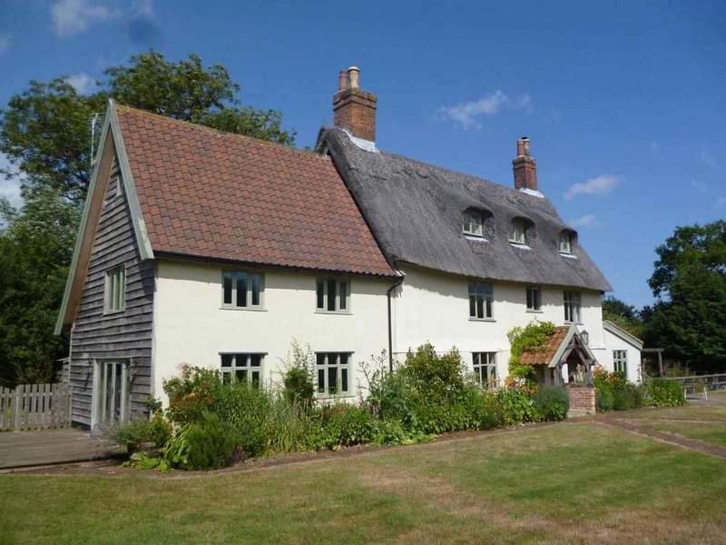 5 Bedrooms Farm House Character Property for sale in Brundish, Nr Framlingham, Suffolk