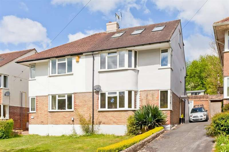 5 Bedrooms Semi Detached House for sale in Mackie Avenue, Patcham, Brighton