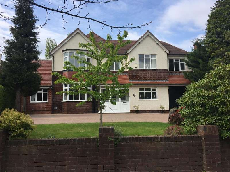 7 Bedrooms Detached House for sale in Croftdown Road, Harborne, Birmingham, B17 8RE