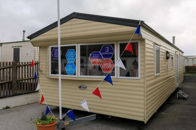 3 Bedrooms Caravan Mobile Home for sale in Dymchurch, Kent