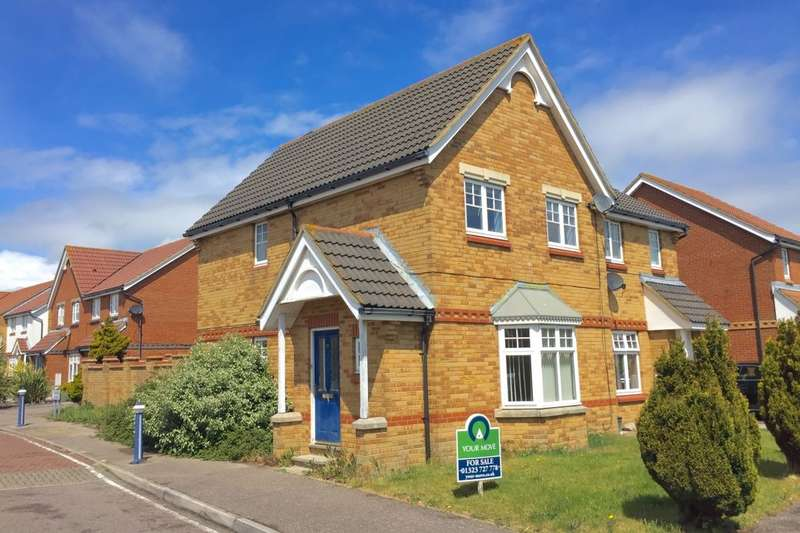 3 Bedrooms Semi Detached House for sale in Samoa Way, Eastbourne, BN23
