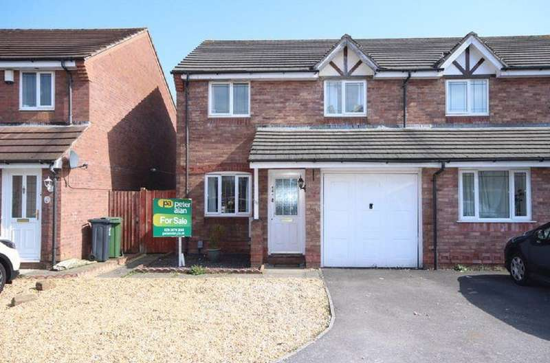 3 Bedrooms Semi Detached House for sale in Aston Place, St. Mellons, Cardiff