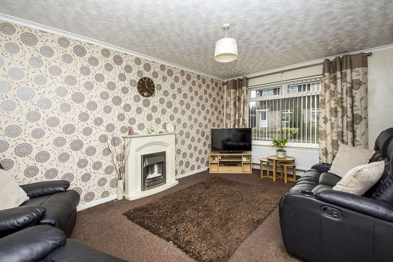 2 Bedrooms Semi Detached Bungalow for sale in Cheviot Drive, Nottingham, NG6