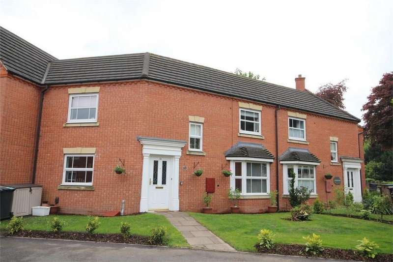 3 Bedrooms Terraced House for sale in Clarkson Close, Town Centre, Nuneaton, Warwickshire