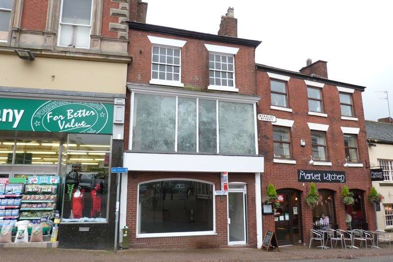 Studio Flat for sale in 14 Market Place, Leek, Staffordshire ST13