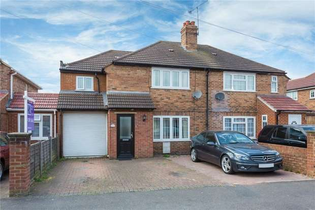 4 Bedrooms Semi Detached House for sale in 8 York Avenue, SLOUGH, Berkshire
