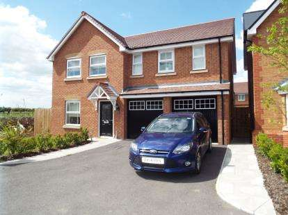 4 Bedrooms Detached House for sale in Fallow Field, Honeybourne, Evesham, Worcestershire
