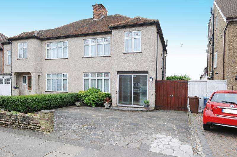 3 Bedrooms Semi Detached House for sale in Pinner Park Avenue, North Harrow