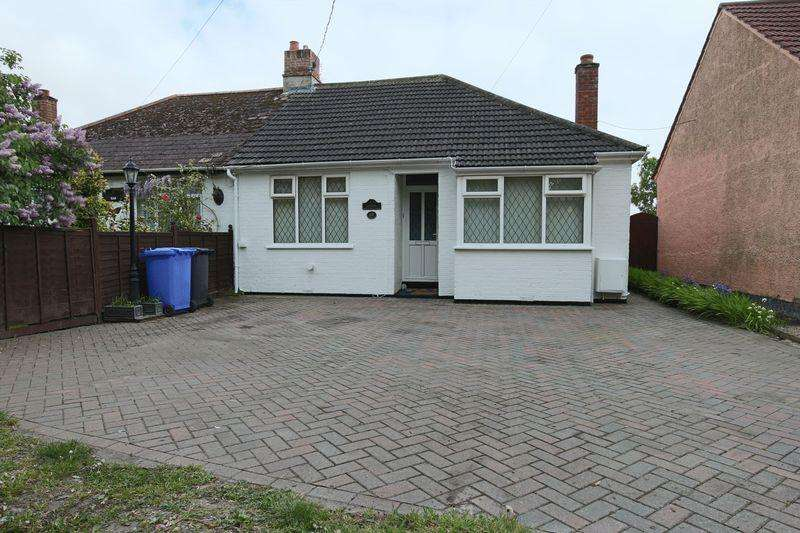 2 Bedrooms Semi Detached Bungalow for sale in Gorleston Road, Lowestoft