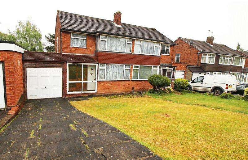 3 Bedrooms Semi Detached House for sale in Grosvenor Road, ETTINGSHALL PARK