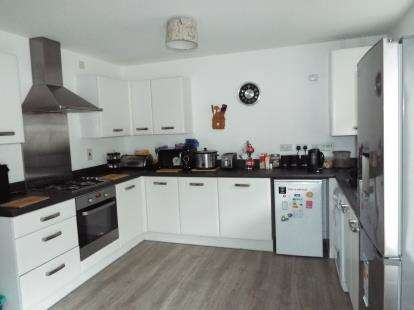 3 Bedrooms Terraced House for sale in Jamestown Avenue, Chapelford Village, Warrington, Cheshire