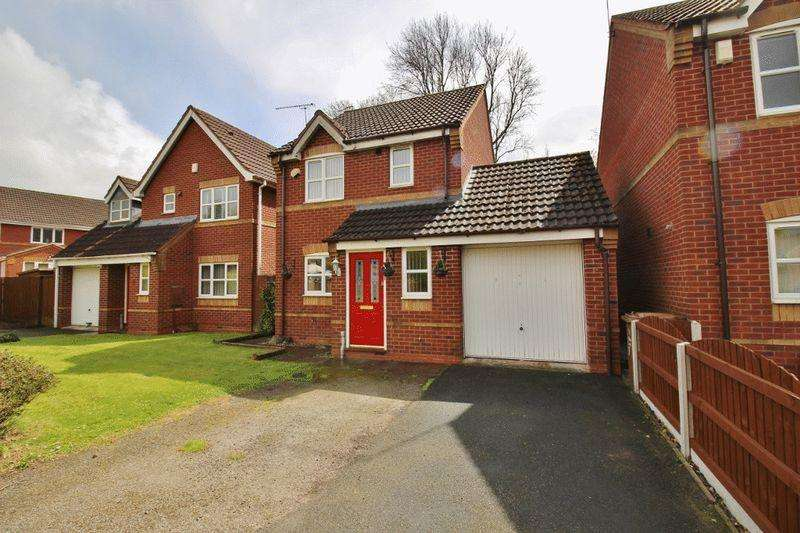 3 Bedrooms Detached House for sale in Teal Grove, Wednesbury