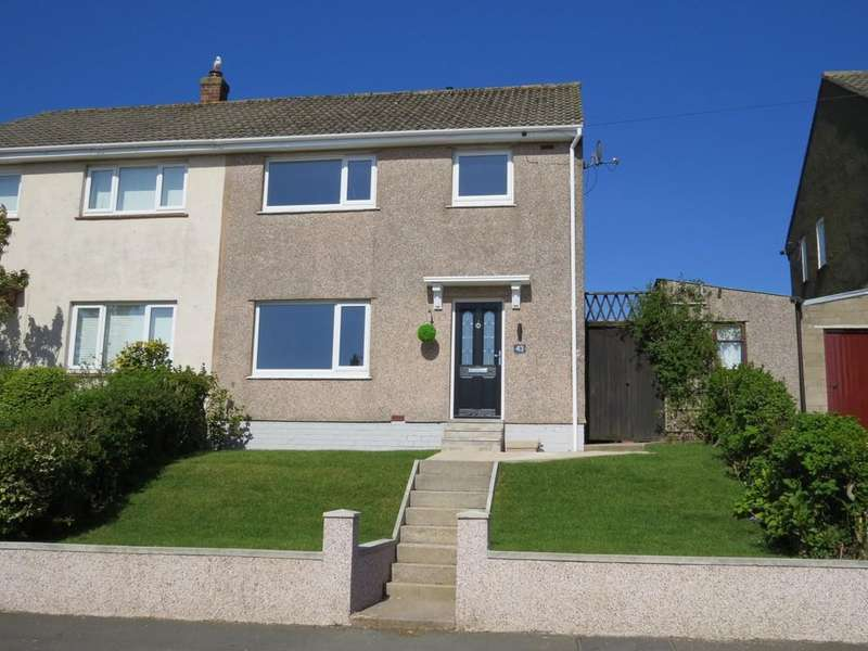 3 Bedrooms Semi Detached House for sale in Richmond Hill Road, Whitehaven, Cumbria