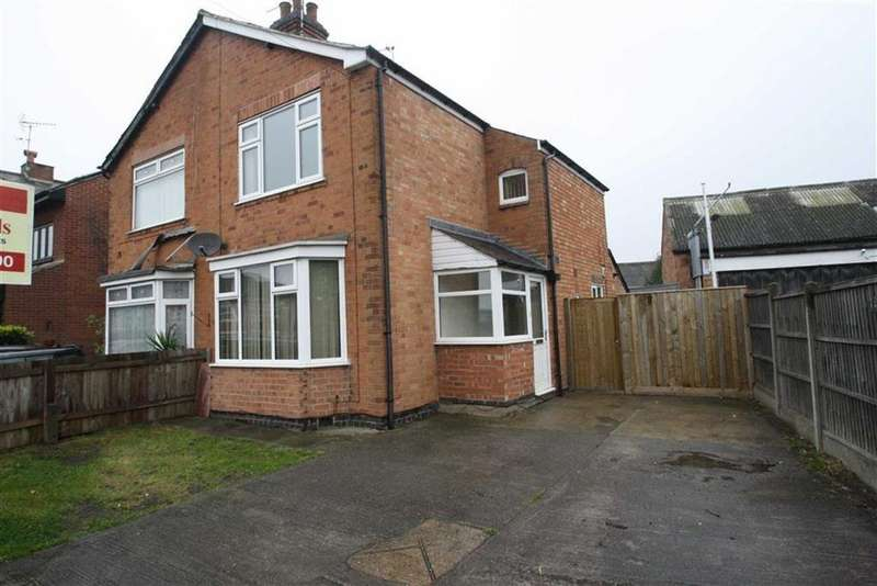 2 Bedrooms Semi Detached House for sale in St Thomas Road, Leicester, LE18