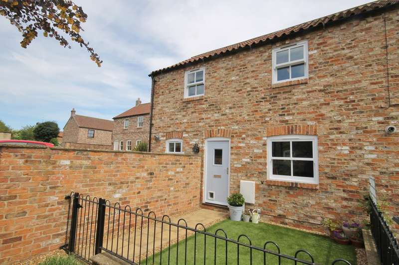 2 Bedrooms End Of Terrace House for sale in Castle Yard Stables, Thirsk YO7 1TG