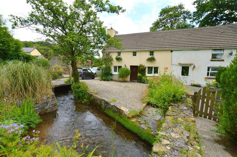 2 Bedrooms Barn Conversion Character Property for sale in Llandybie, Ammanford