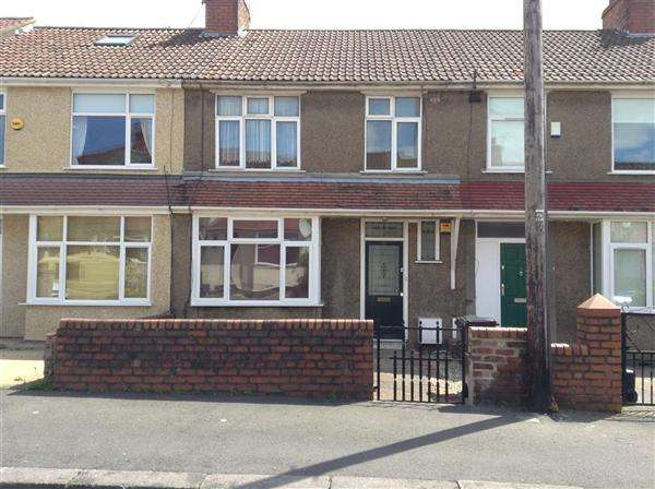 3 Bedrooms Terraced House for sale in Keys Avenue, Horfield, Bristol