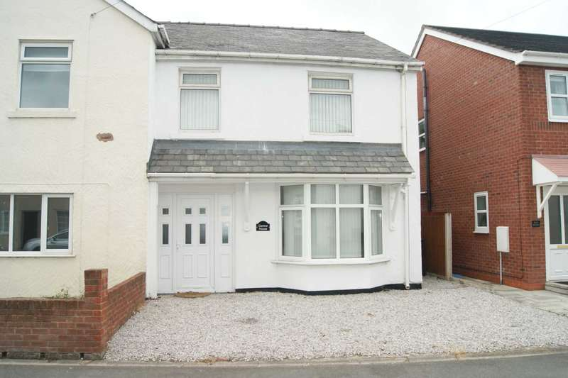 3 Bedrooms Semi Detached House for sale in High Street, Bagillt, Flintshire. CH6 6HE