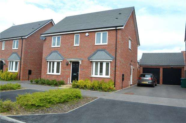 4 Bedrooms Detached House for sale in Astoria Drive, Bannerbrook Park, Coventry, West Midlands