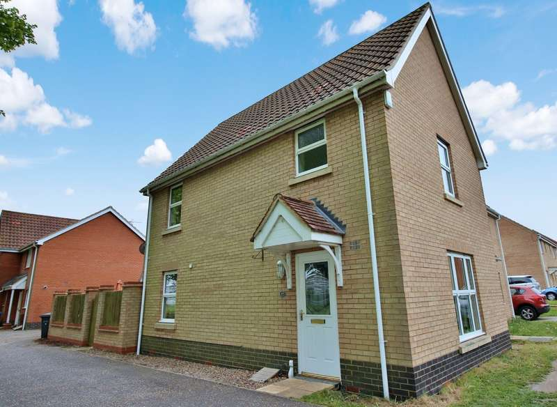 3 Bedrooms Semi Detached House for sale in Alicante Way, Norwich
