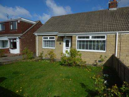2 Bedrooms Bungalow for sale in Angerton Avenue, Shiremoor, Newcastle upon Tyne, Tyne and Wear, NE27