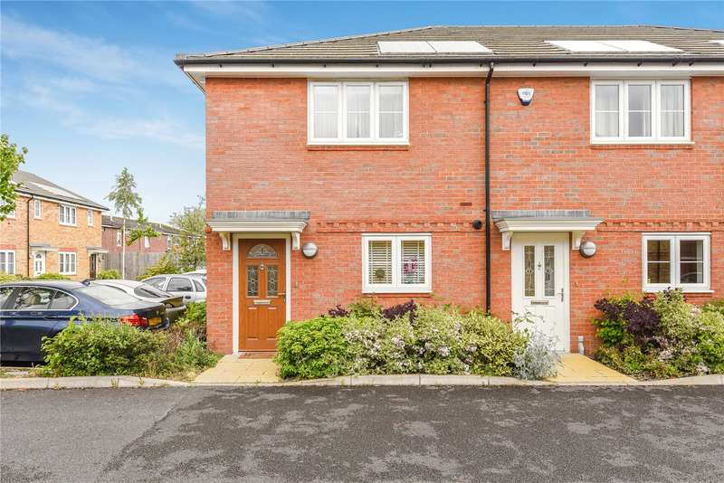 2 Bedrooms End Of Terrace House for sale in Barra Wood Close, Hayes, Middlesex, UB3