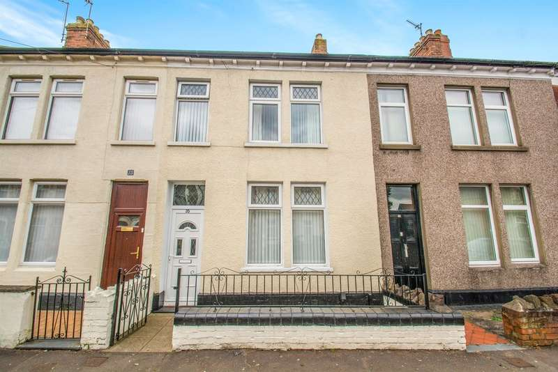 4 Bedrooms Terraced House for sale in Radnor Road, Cardiff