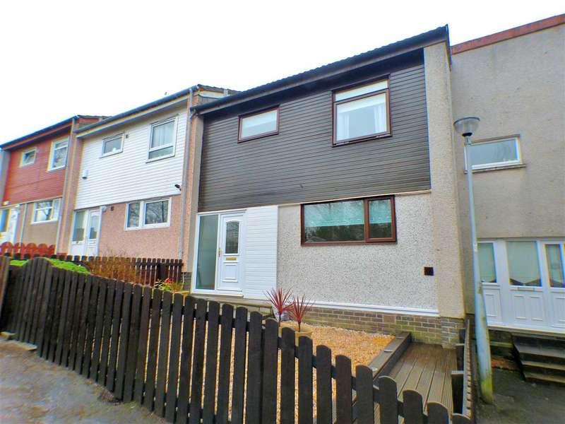 3 Bedrooms Terraced House for sale in Troon Avenue, Greenhills, EAST KILBRIDE