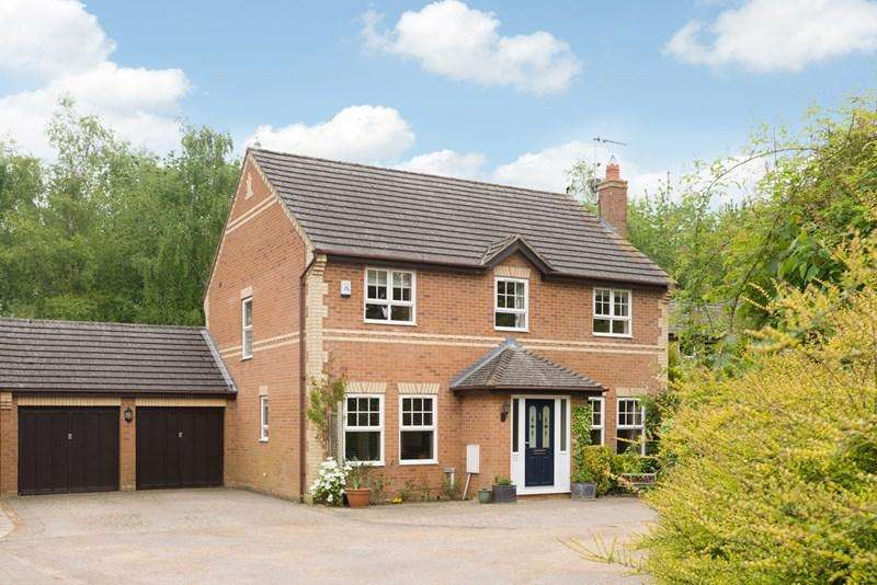 4 Bedrooms Detached House for sale in Gaveston Gardens, Deddington, Banbury