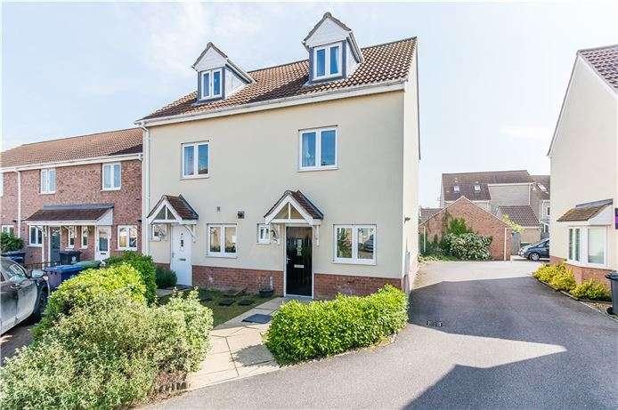 3 Bedrooms Semi Detached House for sale in Collingwood Drive, Longstanton, Cambridge