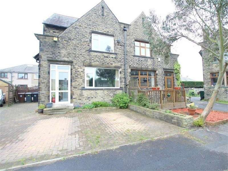 3 Bedrooms Semi Detached House for sale in Wyke Crescent, WYKE, West Yorkshire