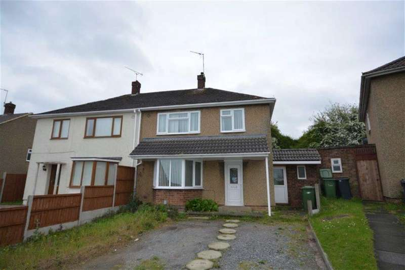 3 Bedrooms Semi Detached House for sale in Grant Road, Coventry