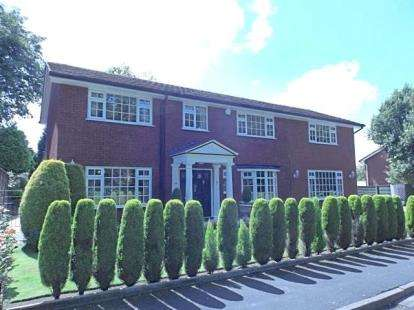 5 Bedrooms Detached House for sale in Turnberry Road, Heald Green, Cheadle, Cheshire