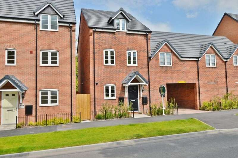 4 Bedrooms Semi Detached House for sale in Armitage Road, Rugeley