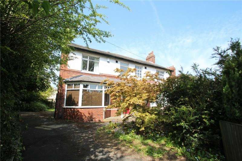 3 Bedrooms Semi Detached House for sale in SCOTT HALL ROAD, LEEDS, LS7 2EE